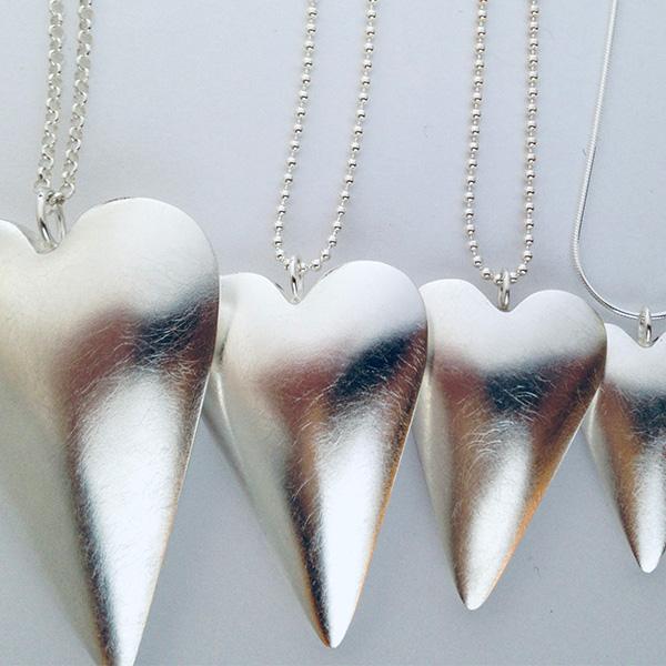 Anna Martinsson, Hjärtan, smyckeskonst