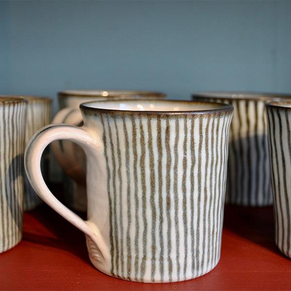 Marie Strand-Dahl, keramiker, kopp, stengods