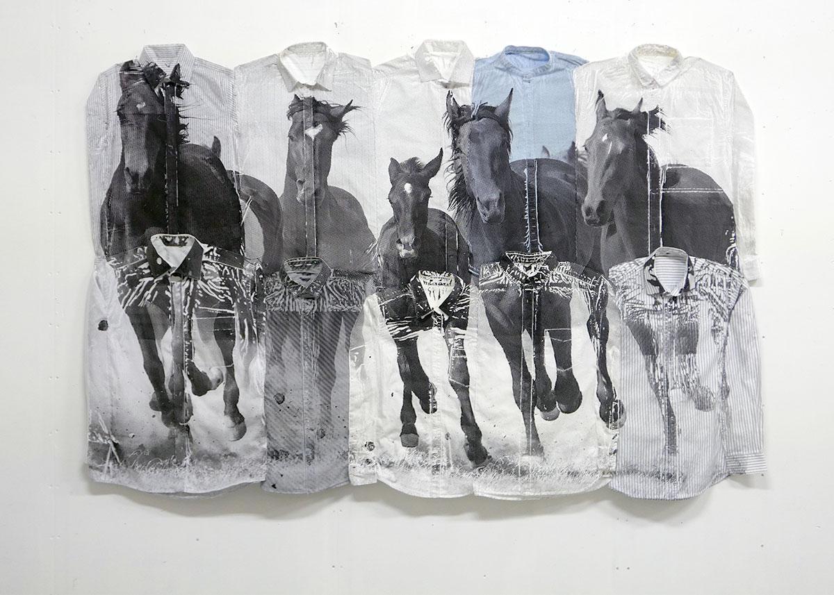 Maria Lilja, Is Freedom Always Somewhere Else, Textil, 135 x 200 cm, Pris 32.000:-